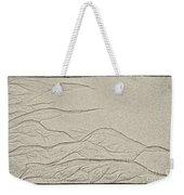 Ocean Sand Art Weekender Tote Bag