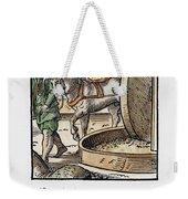 Oil Press, 1568 Weekender Tote Bag