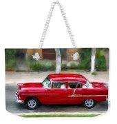 Red Bel Air Weekender Tote Bag
