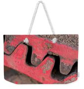 Old Cog Wheels Weekender Tote Bag by Les Palenik
