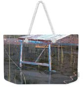 Old Dock 2 Weekender Tote Bag