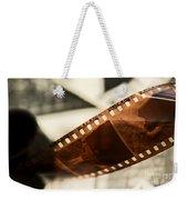 Old Film Strip And Photos Background Weekender Tote Bag