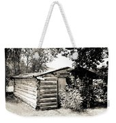 Old Log Homestead Weekender Tote Bag