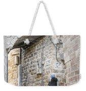Old Town Street In Jerusalem Israel Weekender Tote Bag