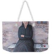 Old Woman Waiting Weekender Tote Bag