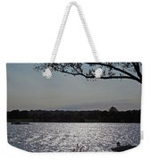 On A Glistening River Weekender Tote Bag