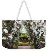Orchid Display Weekender Tote Bag