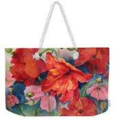 Oriental Poppies Weekender Tote Bag