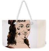 Ornamental Patches On Face 17th Century Weekender Tote Bag