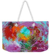 Out In The Garden Weekender Tote Bag
