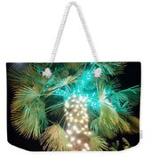Outdoor Christmas Decorations Weekender Tote Bag