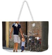 Padre E Figlio Weekender Tote Bag