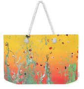 Paint Number Ninteen Diptych Weekender Tote Bag