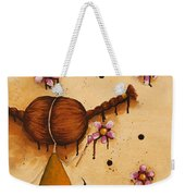 Painting Flowers Weekender Tote Bag