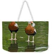 Pair Black-bellied Whistling-ducks Weekender Tote Bag