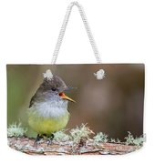 Pale-edged Flycatcher Weekender Tote Bag