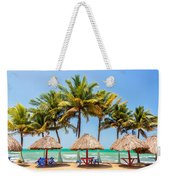 Palm Trees And Sea Weekender Tote Bag