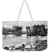 Panama Canal French Work Weekender Tote Bag