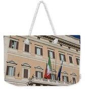 Parliament Building Rome Weekender Tote Bag