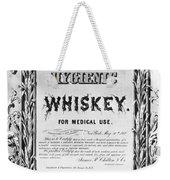 Patent Medicine Poster Weekender Tote Bag