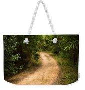 Pathway In The Woods Weekender Tote Bag