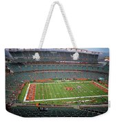 Paul Brown Stadium Weekender Tote Bag by Dan Sproul