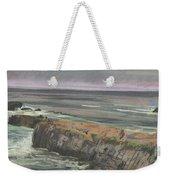Pescadero Beach Weekender Tote Bag