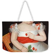 Phillips' The Strawberry Girl Weekender Tote Bag