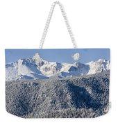 Pikes Peak Snow Weekender Tote Bag