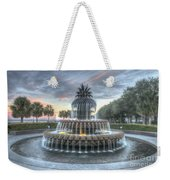 Majestic Sunset In Waterfront Park Weekender Tote Bag