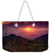 Pink Desert Skies  Weekender Tote Bag