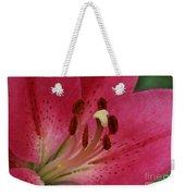 Pink Lilly Weekender Tote Bag