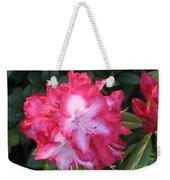Pink Rhododendron Weekender Tote Bag
