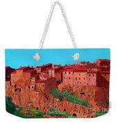 Pitigliano Village Weekender Tote Bag