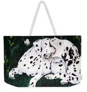 Playful Pups Weekender Tote Bag