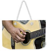 Playing Guitar Weekender Tote Bag