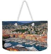 Port Du Nice Weekender Tote Bag