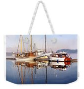 Port Orchard Marina Reflections Weekender Tote Bag