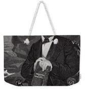 Portrait Of Abraham Lincoln Weekender Tote Bag by Alonzo Chappel