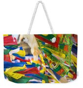 Prayer Flags Weekender Tote Bag