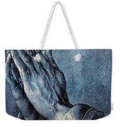 Praying Hands Weekender Tote Bag by Albrecht Durer