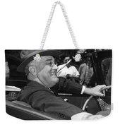 President Franklin Roosevelt Weekender Tote Bag