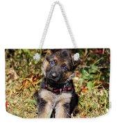 Pretty Puppy Weekender Tote Bag