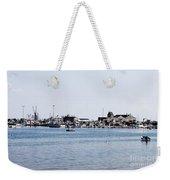 Provincetown Harbor Weekender Tote Bag