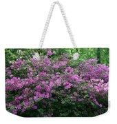 Purple Azaleas Weekender Tote Bag