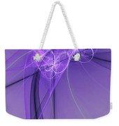 Purple Illusion Weekender Tote Bag