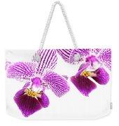Purple Orchid-5 Weekender Tote Bag