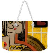Queen Of Hearts Of Egypt Weekender Tote Bag