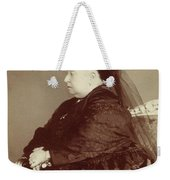 Queen Victoria Of England (1819-1901) Weekender Tote Bag