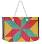Quilting The Barn  Weekender Tote Bag